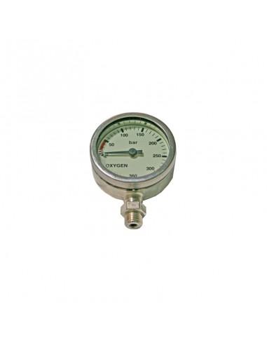 Dirzone Manómetro 52mm 288bar Cromado Oxígeno