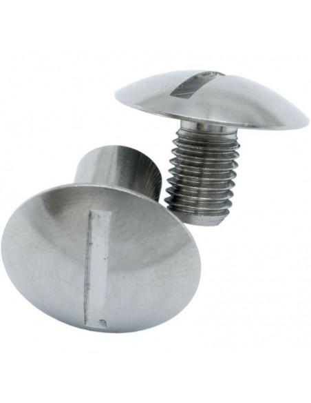 Dirzone Conjunto tornillos redondos para placa