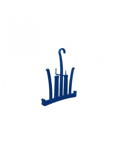 Dirzone Percha accesorios Azul