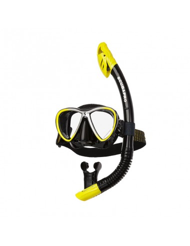 Scubapro Kit Mascara Sinergy Twin Amarillo / Negro