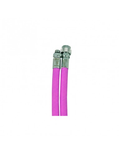 Miflex Latiguillo Inflador Purpura Trenzado