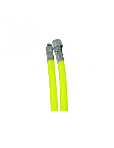 Miflex Latiguillo Inflador Amarillo Trenzado