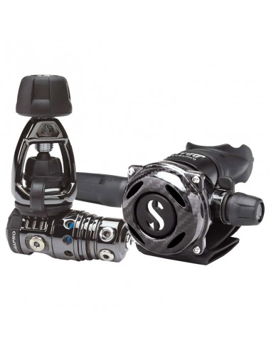 Scubapro Conjunto MK25 Evo Int / A700 Carbon Black Tech