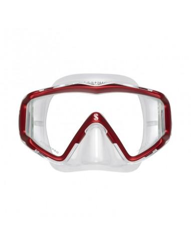 Scubapro Mascara Crystal VU Rojo /...