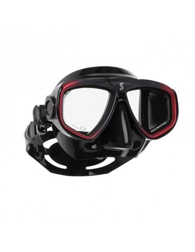 Scubapro Mascara Zoom Rojo / Negro