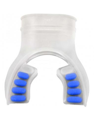 XSScuba Boquilla silicona Transparente / Azul