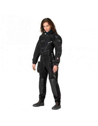 Waterproof Traje Seco D10 Pro ISS Mujer