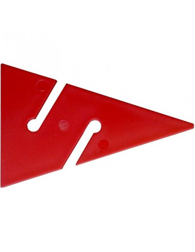 Dirzone Flecha 90mm Rojo
