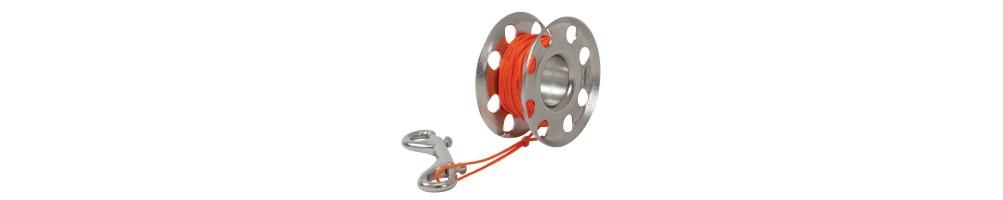 Carretes y spools para buceo y submarinismo | Tienda online Divemania