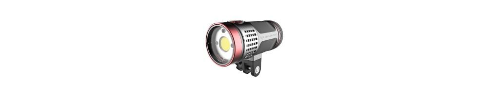 Focos iluminación submarina | Tienda online Divemania